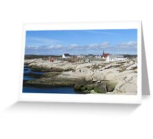 Peggy's Cove, NS Greeting Card