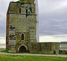 Church Tower, Remains of St Helens Church by Rod Johnson