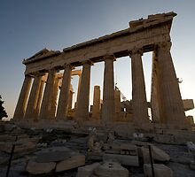 The Parthenon by Mark Prior