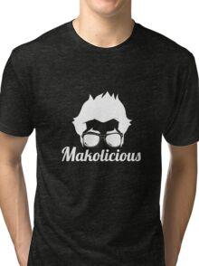 Makolicious (Black) Tri-blend T-Shirt