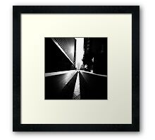 More London shadows Framed Print