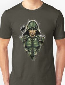 Green Hooded Hero T-Shirt