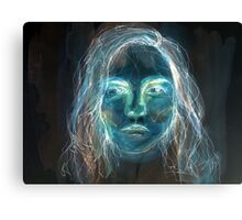 The inverted girl  Canvas Print