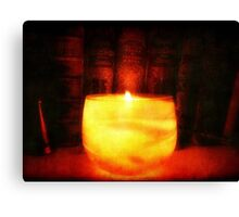 Candle Glow ©  Canvas Print