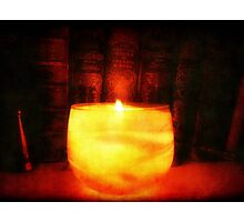 Candle Glow ©  Photographic Print