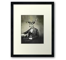 Distinguished Deer Framed Print