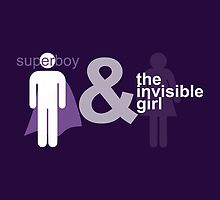 Superboy & the Invisible Girl by traS(M)H Designs