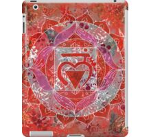 First Chakra Mandala iPad Case/Skin