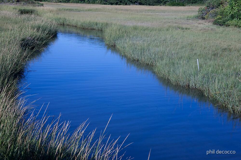 Menemsha Waterway by phil decocco