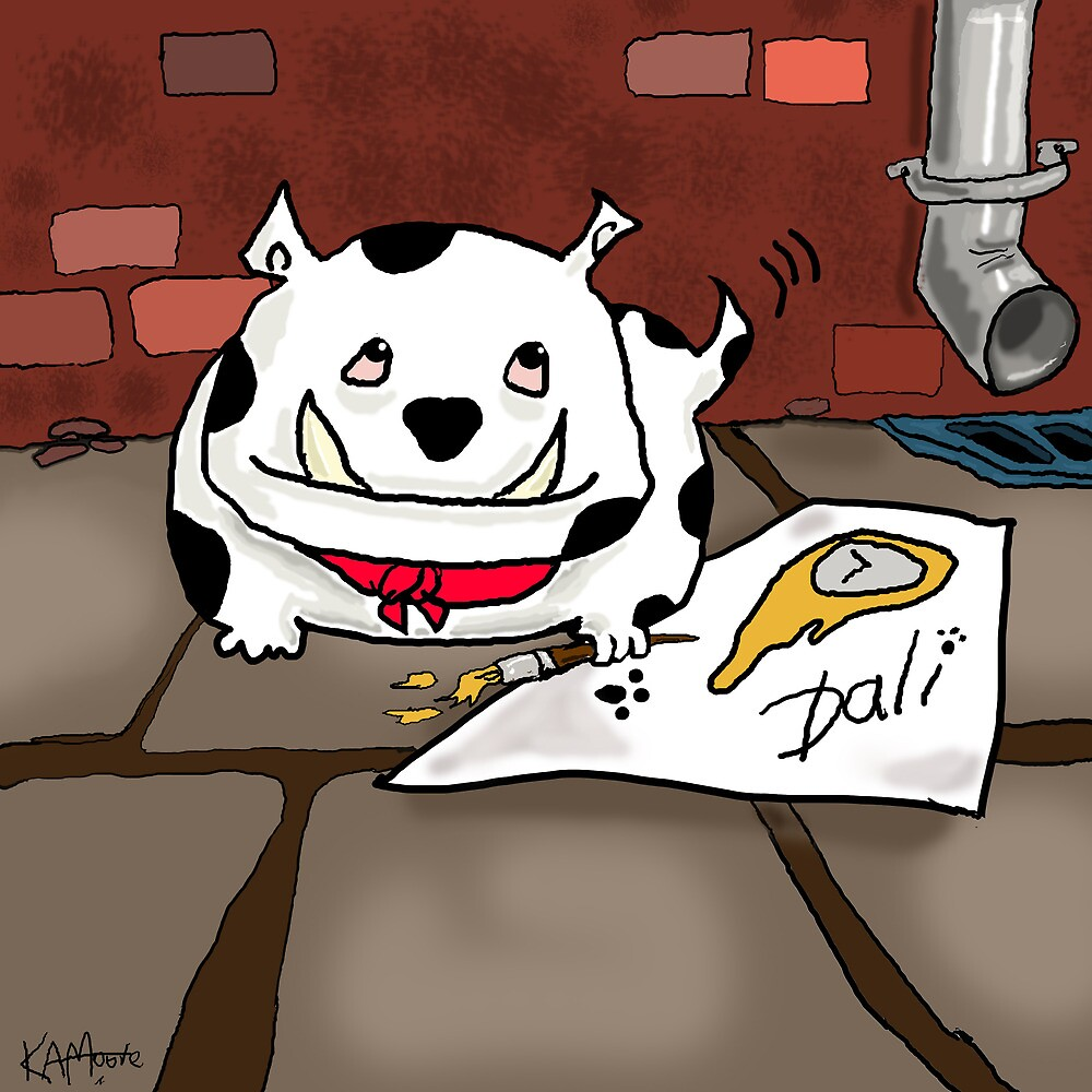 Dali the Dog by Kev Moore