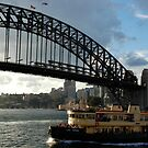 as the lady herron cuts its way to circular quay by mellychan