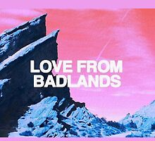 Love From Badlands Halsey by technicallme