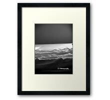 Empty Bed Framed Print