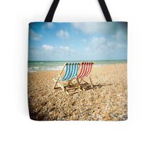 Deckchairs Tote Bag