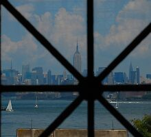 City View from Ellis Island by photojeanic