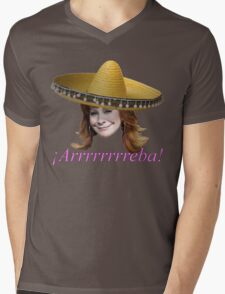 ¡Arrrrrrreba! Mens V-Neck T-Shirt