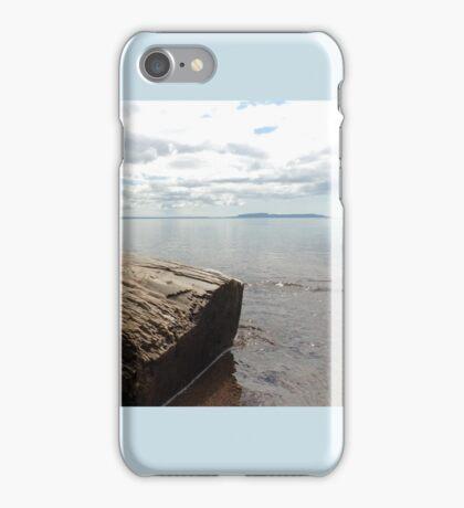 Sleeping Giant on Lake Superior iPhone Case/Skin