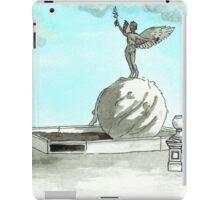 Daily Doodle 28- En Plein Air - Jacksonville Memorial Park iPad Case/Skin