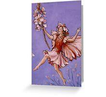 Apple Blossom Fairy Greeting Card