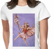 Apple Blossom Fairy Womens Fitted T-Shirt