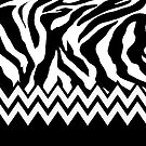 Zebra Chevron by gretzky