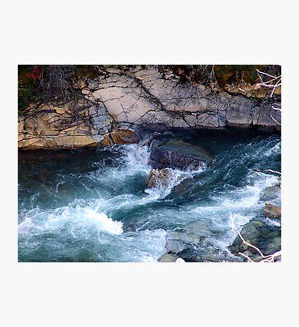 Rapids, Cameron Creek Photographic Print