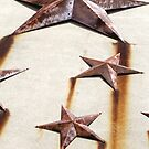 Warsaw, IN: Rusty Stars by ACImaging