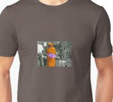 A Touch of Colour in a Grey World Unisex T-Shirt
