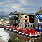 Skipton moorings by David  Barker