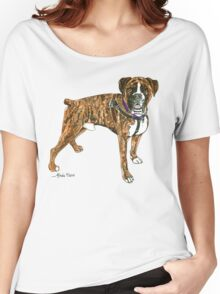 Daily Doodle 25- Power - Boxer, Boyd Women's Relaxed Fit T-Shirt