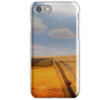 EARLY PIONEER LIFE ON THE PRAIRIES iPhone Case/Skin