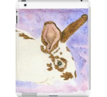 Daily Doodle 24- Rescue - American Rabbit, Robin iPad Case/Skin
