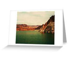 Lake Mead, Nevada USA Greeting Card