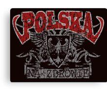 Polska Na Zdrowie Canvas Print