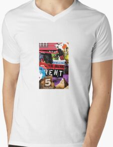 Musicals Collaboration  Mens V-Neck T-Shirt