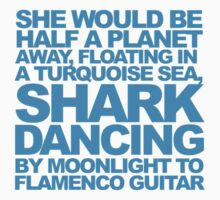 Dancing Sharks - Flamenco Guitar Kids Clothes