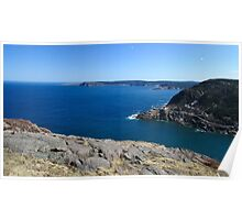 View from Signal Hill, Newfoundland Poster