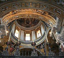 Interior of Santa Maria Maggiore by hjaynefoster