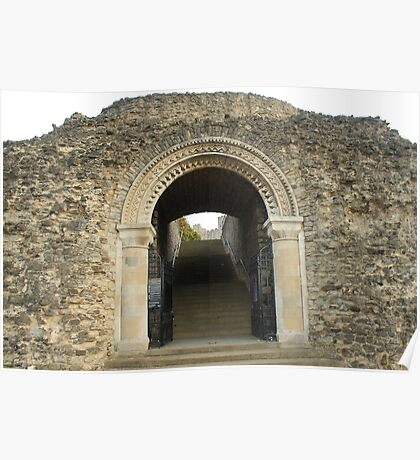 Gateway to History, Rochester Castle Poster