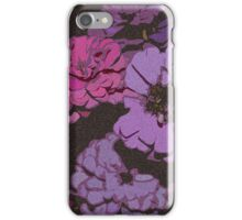 Spotted Flowers iPhone Case/Skin