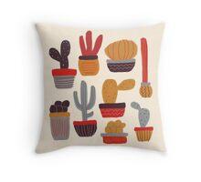 Kaktus Throw Pillow