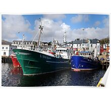 Killybegs Trawlers Poster