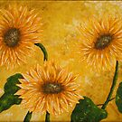 Yellow Daisies by Allegretto