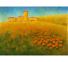 Tuscan Gold 01 Photographic Print