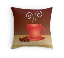warm moments Throw Pillow