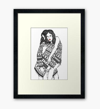 Fusion #1 Framed Print