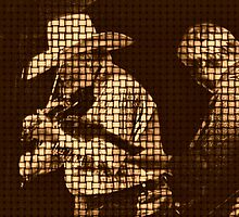 Charlie Daniels 3 (in a country weave) by © Bob Hall