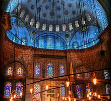 HDR: Blue Mosque, Istanbul, Turkey (view larger) by abhishek dasgupta
