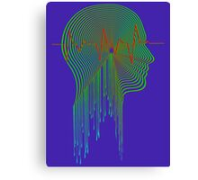 Audio Visual Canvas Print