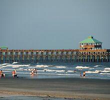 Folly Beach Pier by Susanne Van Hulst